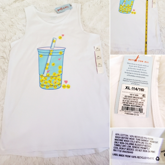 Brand new girl size 14 to 16 tank top